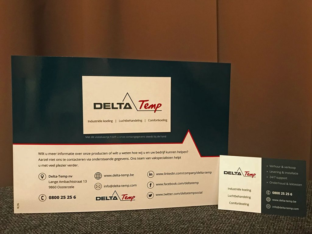 Direct Mailing 2018 - Delta-Temp