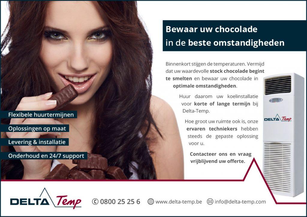 Advertentie vakmagazine Chocolaterie